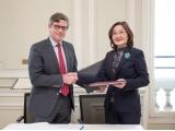 Казахстанская делегация во главе с Председателем Республиканской нотариальной палаты посетила Французскую Республику с рабочим визитом