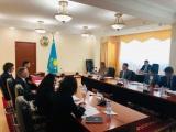 Министр юстиции Республики Казахстан провел встречу  с представителями Международной комиссии нотариального сотрудничества (CCNI) Международного союза нотариата (UINL)